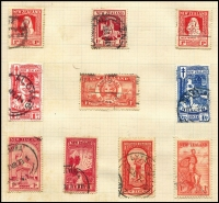 Lot 90 [1 of 2]:World incl Australia, El Salvador, Fiji, GB, strength in New Zealand few Health issues with 1931 Smiling Boys, KGVI Defins (150gr+ incl Officials off-paper issues), 1960s Christmas issues in imprint/Plate blocks & Papua. Generally fine. (100s)