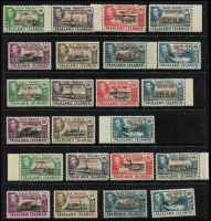 Lot 60 [2 of 6]:World incl Falkland Islands few KGVI Picts to 9d, Dependencies 1944-45 Opts for Graham Land (8) & South Orkneys (8), (the other 2 sets are both missing the 1d value), Great Britain selection of 1980s-90s Defins & Booklet panes on FDCs, South Africa few bi-lingual pairs, Booklet panes, few SWA opts, etc. Few other covers. Mixed condition. (170+ & 40 covers)