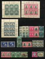 Lot 60 [3 of 6]:World incl Falkland Islands few KGVI Picts to 9d, Dependencies 1944-45 Opts for Graham Land (8) & South Orkneys (8), (the other 2 sets are both missing the 1d value), Great Britain selection of 1980s-90s Defins & Booklet panes on FDCs, South Africa few bi-lingual pairs, Booklet panes, few SWA opts, etc. Few other covers. Mixed condition. (170+ & 40 covers)