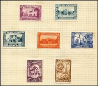 Lot 25 [3 of 4]:World Collection incl Canada, Cuba, Haiti, Italian Cols, Liberia, Persia, Puerto Rico 1898 to 1p, Sarre, Spain 1907 Madrid Exhibition (6, possibly reprints), 1931 3rd Pan-American Postal Union Congress (10), 1930 Spanish-American Exhibition 4p purple, Thailand, etc. Condition very mixed.