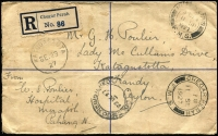 Lot 87 [2 of 9]:World Covers 1927-2017 many commercial incl FMS 1927 Registered envelope Chegar Perah to Ceylon, Greece, Malta, Malaysia, Qatar, South Africa, Switzerland, Turkey, USA, few FDCs from Canada, Ceylon, Egypt, Iran, Vatican. Mixed condition. (Approx 100)