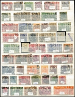 Lot 471 [1 of 4]:1880s-1990s Collection in album, few earlies, range of Inflation issues, various pre-war issues, few perfins, Allied Zones, West Germany incl 1951-52 Posthorn 70pf, West Berlin, few commems & defins, East Germany. Inrteresting lot. Mixed condition. (100s)