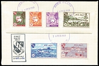 Lot 481 [2 of 7]:Locals Array 1960s-79 incl Caldey Island (3), Drakes Island, Herm (2), Isle of Pabay, Jethou, Sanda (3), also a Snark Island cover. (12)