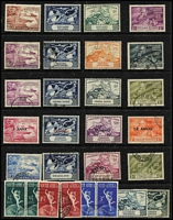 Lot 101 [1 of 2]:1949 UPU: Collection, some in special album, others on Hagners incl Cyprus, Fiji, Hong Kong, Malayan States, Pitcairn Island, etc. Generally fine. (330+)