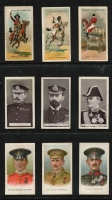 Lot 104:Cigarette Cards: Selection of 'Wills' cards incl Victoria Cross Heroes (24 of 25 with many duplicates), Riders of the World, Butterflies/Moths of the World, War Incidents, Animals, Britain's Defenders, all are incomplete sets. Mixed condition.
