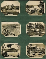 Lot 126 [2 of 2]:Cigarette Cards : Australian Scenic Series: set of 100 black & white cards by W.D & H.O. Wills in album.