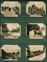 Lot 126 [1 of 2]:Cigarette Cards : Australian Scenic Series: set of 100 black & white cards by W.D & H.O. Wills in album.