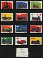 Lot 140 [3 of 6]:Matchbox Labels: Foreign collection on 48 Hagners incl Austria trains, Belgium Ford cars, China views-Canton, Peking, Czechoslovakia, Germany Horten cars, Hungary ships, Netherlands old cars, new cars, 'Pam' types, Poland dogs, fish, Portugal, Russia animals, ships, Yugoslavia city crests, ships, sport emblems, planes, etc. Very clean lot. (100s)