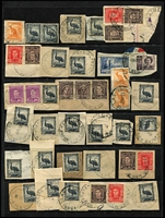 Lot 464 [1 of 5]:1948-53 Australia Used in PNG Group also 3 covers from the same period with 2 R.A.A.F. Concessions and a registered cover to Sydney. Mixed condition. (60 & 3 covers)