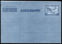 Lot 434 [1 of 6]:Aerogrammes: 1953-1974 Aerogrammes complete, unused. ACSC #5-14. (10)