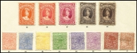 Lot 394 [1 of 2]:1879-1905 Collection incl 1897-80 6d, 1882-86 Large Chalons 2/6d (2), 5/-, 10/- (3), 1882-95 incl 1/- (2, shades), 2/- (2, shades), 1895-95 5d, 1897-1905 various to 2/-,1907-11 1/- (2), 2/- (2). High retail. Generally very fine. (45)