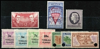 Lot 454 [2 of 2]:1967 Pictorials Pictorials (4), also Tokelau 1967 Decimal Surcharges (7). (11)