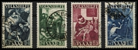 Lot 1504 [2 of 2]:1949 National Relief Fund set, fine used. Mi #267-71, Cat €650. (5)
