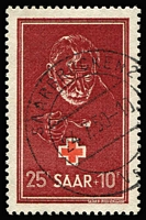 Lot 1505 [1 of 2]:1950 & 1951 Red Cross issues. Mi #292,304, Cat €160. (2)