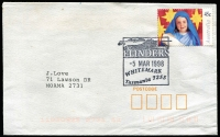 Lot 406 [1 of 4]:1970s-2000s Cover selection with machine cancels, pictorial postmarks, FDCs, etc. Generally fine. (70+)