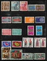 Lot 89 [2 of 4]:Europa Collection: on 80 Hagners incl Andorra (French & Spanish), Austria, Belgium, Cyprus, Denmark, Faröe Islands, Finland, France, Germany West, Gibraltar, Great Britain, Greece, Guernsey, Iceland, Ireland, Isle of Man, Jersey, Italy, Liechtenstein, Luxembourg incl 1956 (3), 1957 (3) both sets used, Malta, Monaco, Netherlands, Norway, Portugal, San Marino, Spain, Sweden, Switzerland, Turkey, Yugoslavia. High cat value. (2.3kg). (100s)