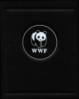 Lot 90 [1 of 3]:World Wildlife Fund: Collection in nine WWF padded albums with late 1980s-2000s MUH issues & unaddressed FDCs. Many bird, animal, insect & marine life subjects. VERY HEAVY LOT. (19+kg).