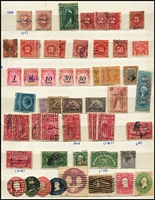 Lot 464 [1 of 2]:1880s-1980s Collection, few earlies, Parcel Posts, P. Dues, few MUH commems. Mixed condition.