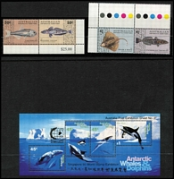 Lot 400 [2 of 2]:1957-2013 Collection in boxed 'DAVO' hingeless album almost complete to 2013 incl Singapore '95 Stamp Exhibition M/S, several packs, gutter pairs, se-tenant issues. Face value $100+. (130+ stamps, 4 packs & 4 sheetlets/M/Ss)