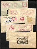 Lot 339 [2 of 2]:1937-63 Collection with various meters, illustrated covers, etc. Mixed condition. (48)