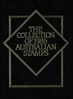 Lot 302:Year Books 1981, 82, 1984, 85 & 86. (Approx 3kg) Face Val $109. (5)