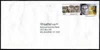 Lot 397:2016 Adelaide Emergency Counter Printed Stamp 30c 'Koala up tree', used on commercial cover.