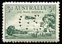 Lot 287 [1 of 2]:Officials Perf 'OS' complete, SG #O112-22 range, 1½d Sturt tiny gum blemish, very lightly mounted. (7)
