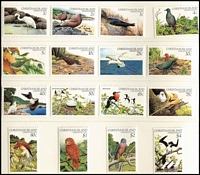 Lot 401 [2 of 2]:1978-89 Accumulation incl 1981, 82, 83 & 88 'Stamp Issue' packs, 1982-83 Bird pack, 1988 Wildlife sheetlet with '1988' imprint. (31 stamps, 7 packs & 4 M/Ss/sheetlets)