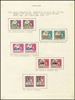 Lot 9 [3 of 3]:Basutoland 1935-59 Pictorials complete both mint (VLM) & fine used. Also 1933-52 PDues mint & used and 1956 mint, Cat £460+. (80+)