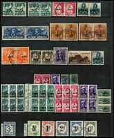 Lot 15 [3 of 5]:British Africas in boxed Lighthouse album on 28 Hagners incl Malawi 1978 Endangered Species M/S (MUH Cat £38), 1983 Fish Eagle strip, Namibia 1997 Flora & Fauna sheetlet of 18, South West Africa incl 1927 3d pair, 1927-30 Voortrekker (4 pairs), 1937 1½d Train (2 MUH pairs & 2 used pairs), Coronation (2 sets), 1973-79 Succulents (16), 1931 Officials 1d & 6d pairs, also Angola 1953 Animals (2 sets ex 12a50 Hippos). Generally fine. (100s)