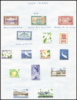 Lot 19 [3 of 3]:British Commonwealth countries in album incl Australia & States with NSW 1897 1/- Consumptive Homes, range of Revenues to 5/-, Canada 1937-38 50c, $1, many QE defins, few Officials, Ceylon, Christmas Island, Cook Islands 1963 Picts (11), Fiji, Great Britain, New Zealand 1953-57 Queens to 10/- (ex 5/-), few Revenue throughout. Generally fine. (100s)