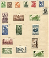 Lot 13 [2 of 4]:British Commonwealth in album incl Canada, Fiji KGVI Blue Canes, Gibraltar 1953-59 5/-, 10/- (2), Nauru Ships to 1/, 10/-, New Zealand, PNG 1952-68 Picts to £1, many other countries. Generally fine.