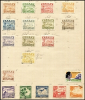 Lot 13 [3 of 4]:British Commonwealth in album incl Canada, Fiji KGVI Blue Canes, Gibraltar 1953-59 5/-, 10/- (2), Nauru Ships to 1/, 10/-, New Zealand, PNG 1952-68 Picts to £1, many other countries. Generally fine.