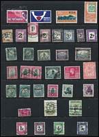 Lot 22 [3 of 5]:British Commonwealth S-Z Collection on 34 Hagners incl St Helena selection of remainder cancel issues, St Lucia, St Vincent, Seychelles, Sierra Leone, Somaliland 1921 ½a green optd 'SPECIMEN', 1949 UPU, South Africa 1961 Decimal Picts (13), few Postage Dues, Revenues, 'DOUANE' opts, Officials, South West Africa opts, 1937 Mail Train 1½d pair (MLH), Coronation (set of 8 marginal pairs), 1954 6d Ovambo woman, wmk horns to the right, Transvaal with possible forgeries/reprints incl 1885-94 several opt varieties incl opt inverted, or misplaced, range of 'V.R.I.' & 'E.R.I.' opts, Trinidad & Tobago 1953-59 P11 $4.80, etc. Generally fine. (100s)