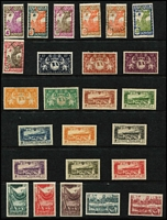 Lot 44 [3 of 3]:French Colonies incl Fr Guyana with few earlies, 1933 Airs, Inini, Guadeloupe, Martinique, St. Pierre et Miquelon 1931 Paris Exhibition, 1949 UPU, 1954 Liberation Anniv, French Polynesia 1949 UPU, Wallis & Futana Islands 1949 UPU, few Vichy issues throughout. Generally fine (470+)