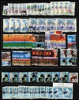 Lot 52 [2 of 2]:Hong Kong 1999-2010 Definitives accumulation incl 1999-2002 Architecture $20 (4), $50 (5), 2002 Cultural Diversity $20 (7), $50 (10), 2006-10 Birds $20 (28), $50 (31), also includes many low values. High catalogue value. (Approx 200)