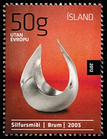 Lot 54 [2 of 2]:Iceland 2012 Year Pack contains all issues. Cat £212+. (34 stamps, 2 M/S & 2 bklts)