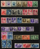Lot 47 [3 of 3]:Italy Pre-1945 commem selection on stockcards incl 1934 Fiume Air Express 2.25l+1.25l, various other issues, also few later incl 1951 1st Tuscan Stamp (2). (140+)