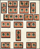 Lot 42 [2 of 3]:South Africa 1913-90s incl small study of 6d orange & green bi-linguals (40), few later commems & defin sets. Generally fine. STC £270. (150+ &4 4 M/Ss)