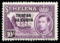Lot 89 [1 of 5]:Tristan Da Cunha 1952-96 collection apparently complete on neatly annotated pages plus 1986 Shipwreck M/S with wmk inverted (SG MS414w), Postage Dues & both National Savings. All M/Ss & some later issues are MUH, also 1955 Gough Island Scientific Survey cover, 1963 MV Bornholm covers (3) signed by the Captain or Islanders, 1979 QEII folder signed by Islanders. Much thematic interest. (100s)