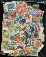Lot 93 [2 of 4]:World loose in bags, envelopes & tins, incl Italy few 1940s commems 1948 St Catherine (2 sets, mint set partially stuck to page, same for used set), 1951 Monte Cassino used pair, Persia, Switzerland many defins, few 'Pro Juventute', etc. Mixed condition. (3.7kg). (100s)