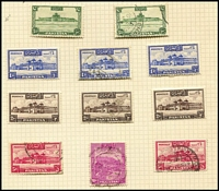 Lot 106 [2 of 2]:World incl Bahawalpur 1948 Union, Multan Campaign, 1949 Jubilee, all used plus 1946 Victory block of 4 MLH, Pakistan 1948-57 1r (2), 2r (2) various perfs, MLH, P12 10r used also few Argentina Brazil. Generally fine. (Few 100)