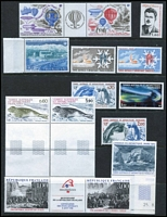 Lot 99 [1 of 4]:World loose and in sparsely filled 32 page stockbook incl China, French Southern & Antarctic Territories, GB, Nauru few packs, Netherlands 1979 ICY M/S, Norway 1980 Norwex '80 M/S (2), Pitcairn Islands, Samoa, USA, range of recent Vatican, etc. Generally fine. (100s)