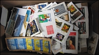 Lot 131:World 0.60kg (Approx.) Many Euopean stamps. No Australia. (100s)