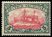 Lot 381 [1 of 2]:1901-19 Yacht Collection incl Yachts to 5m simplified, 1901 mint range incl 20pf (3), 25pf, 30pf, 40pf (2), 50pf, 80pf (4), used incl 25pf, 30pf, 40pf & also MLH 1914-19 3pf (2), 5pf & 10pf (3). Generally fine. (42)