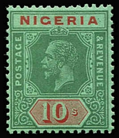 Lot 1609 [1 of 3]:1921-32 Wmk Mult Script CA ½d to 10/- set with all Die I & Die II issues plus colour changes. SG #15-29a, Cat £440+. (29)