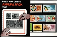 Lot 1641 [2 of 2]:1980s Pack Selection incl 1980, 81 (2) & 82 Year Packs plus range of single set packs (4) & small array (17) of unused PSEs. (65+ Items)
