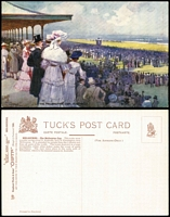 Lot 198 [3 of 3]:Australia - Victoria: six different cards from Tuck's Oilette Wide World series No 7292, includes St. Paul's Cathederal before the spire was built. Unused. (6)