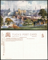 Lot 198 [1 of 3]:Australia - Victoria: six different cards from Tuck's Oilette Wide World series No 7292, includes St. Paul's Cathederal before the spire was built. Unused. (6)