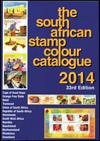 Lot 150 [1 of 3]:Africas: incl [1] The South African Stamp Colour Catalogue 2014 - 33rd Edition 404pp pb. [2] SG Central Africa (in colour) 2005 1st Edition 50pp pb. [3] SG Southern Africa (in colour) 2007 2nd Edition 123+pp (3)